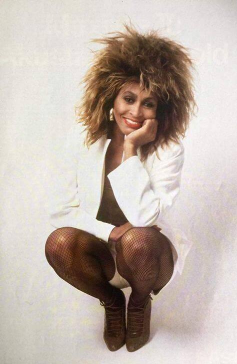 Tina Turner reinventou sua carreira a partir dos anos 1970 e tem uma das melhores vozes do mundo. Foto: Reprodução