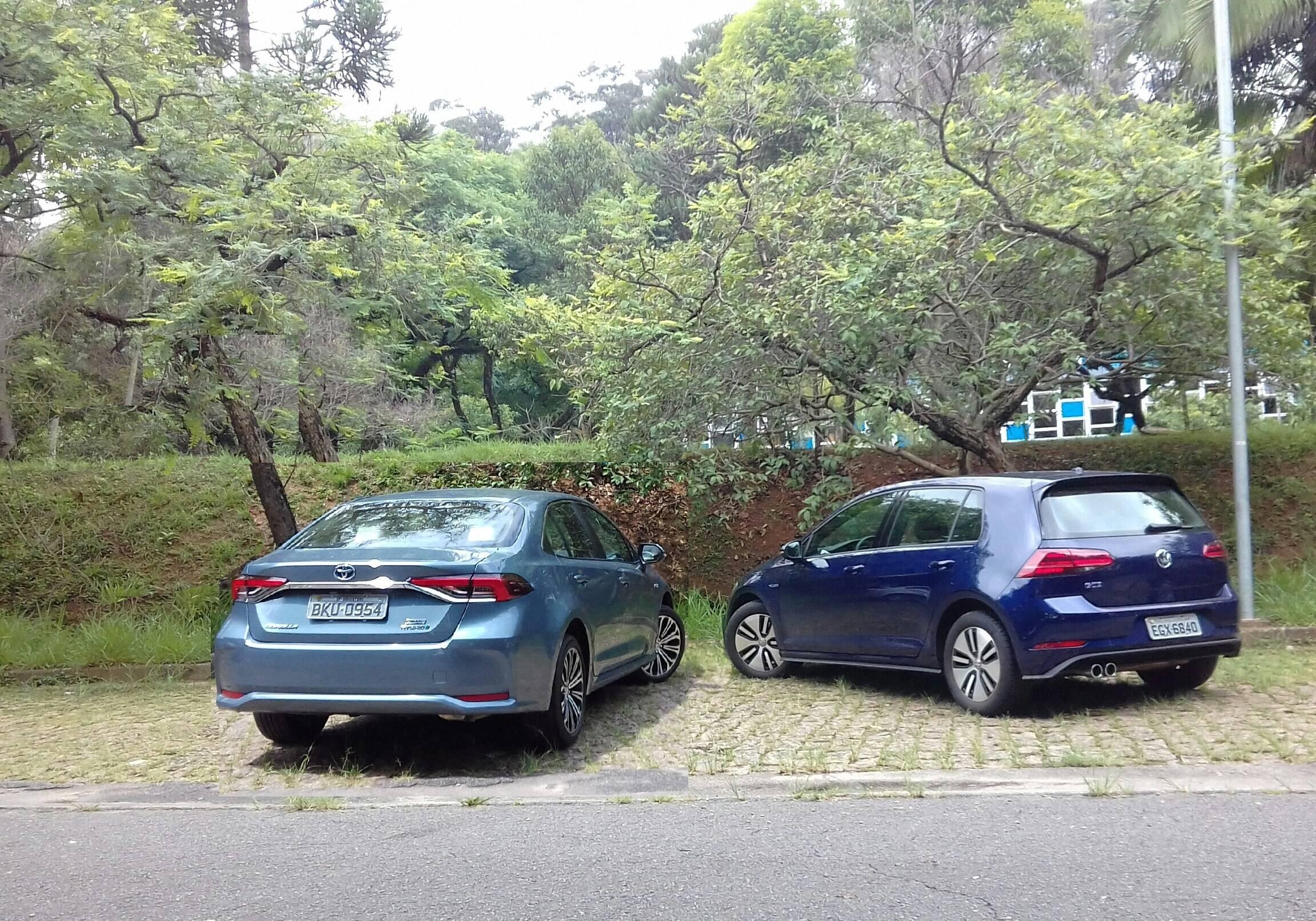 VW Golf GTE. Foto: Carlos Guimarães/iG