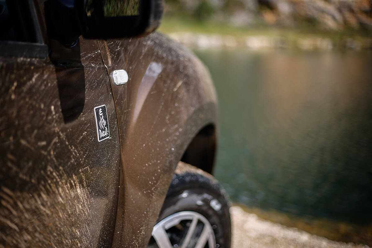 Renault Duster Dakar II. Foto: Divulgação