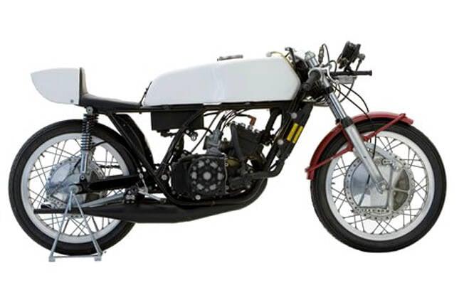 A primeira Yamaha TZ 350 . Foto: Reprodução