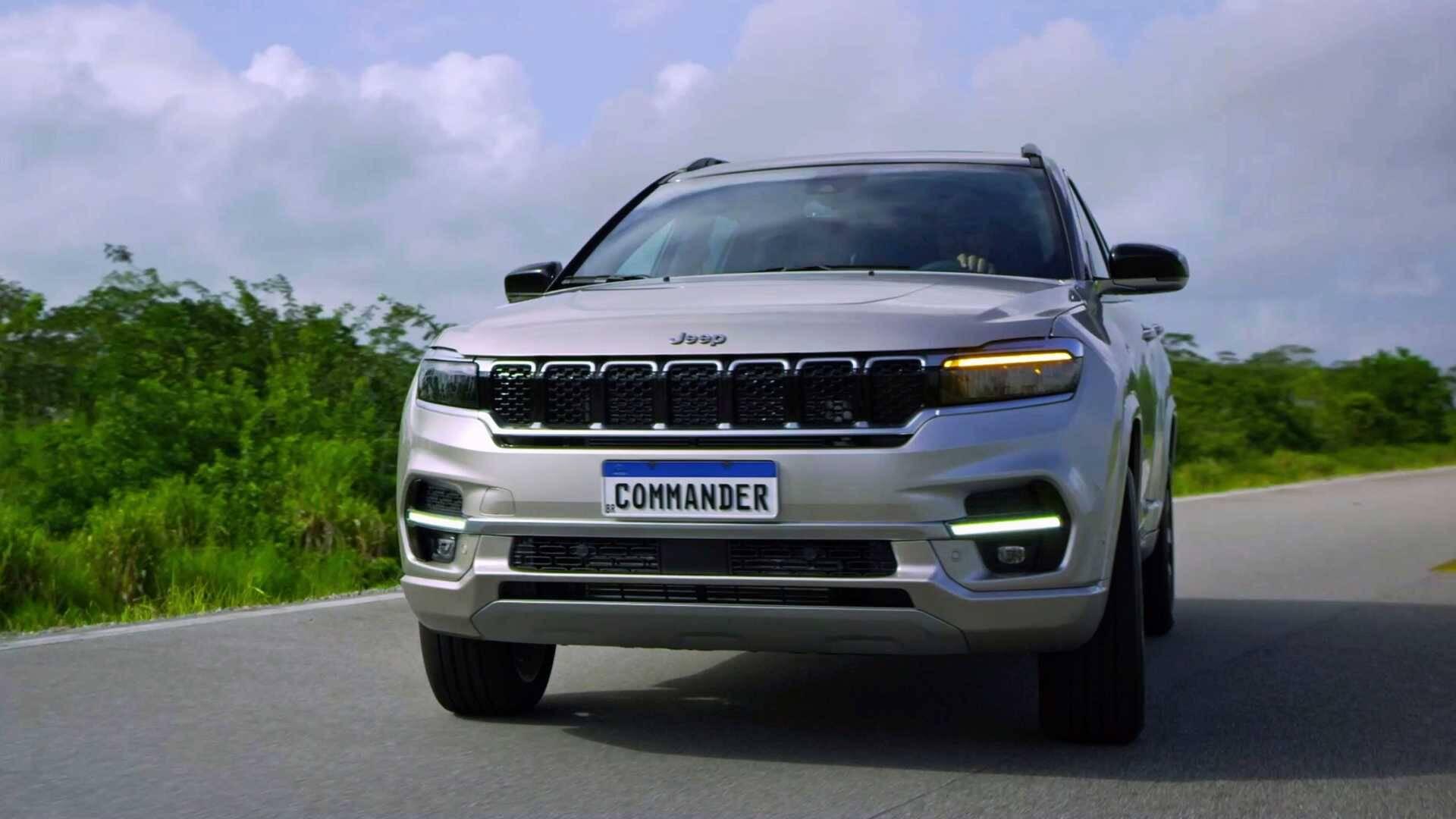 Jeep Commander. Foto: Divulgação