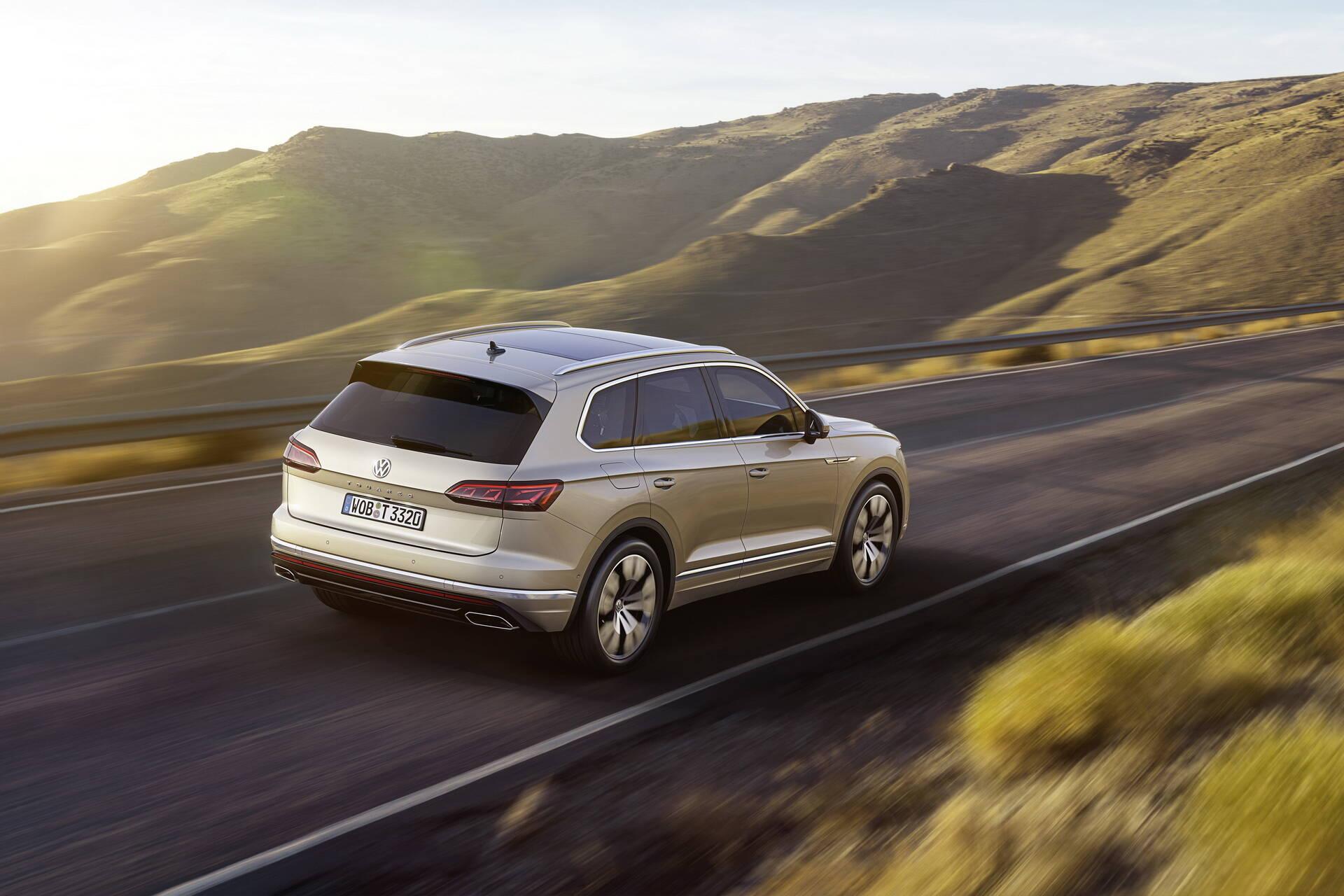 Volkswagen Touareg. Foto: Divulgação