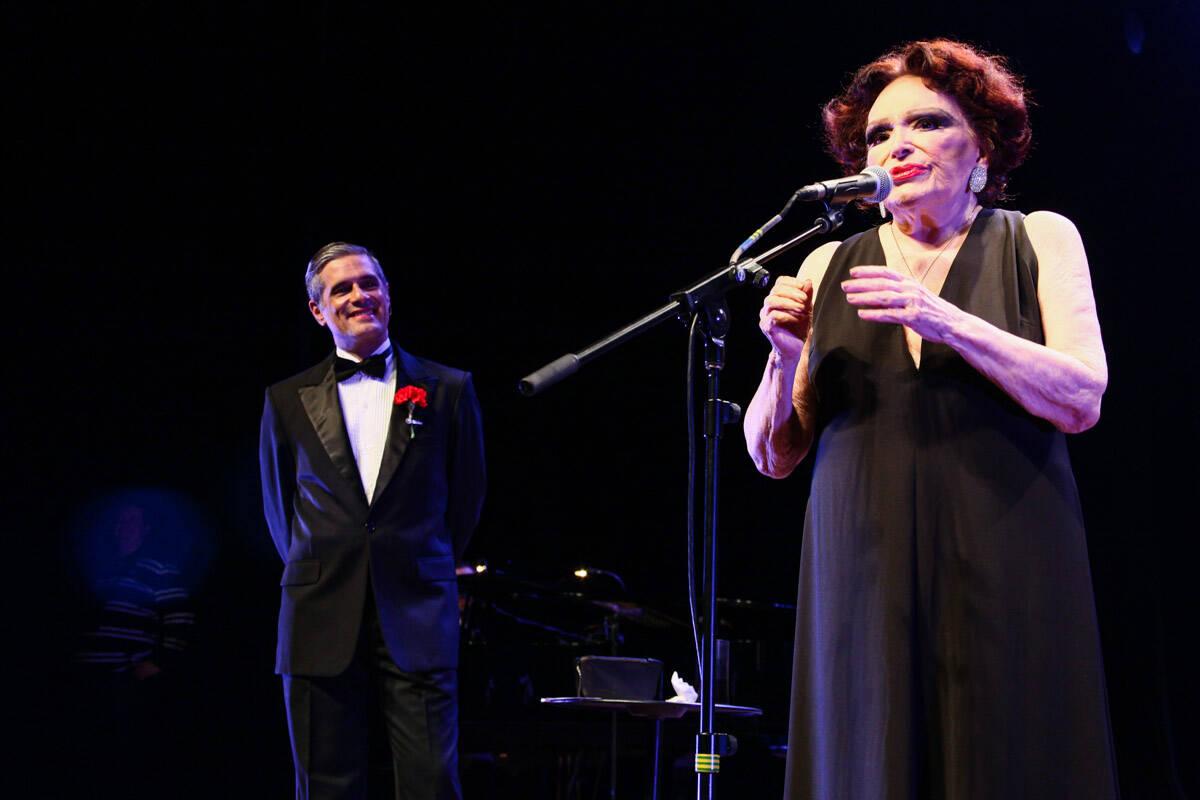 Show Bibi Ferreira em 2013. Foto: Foto Rio News
