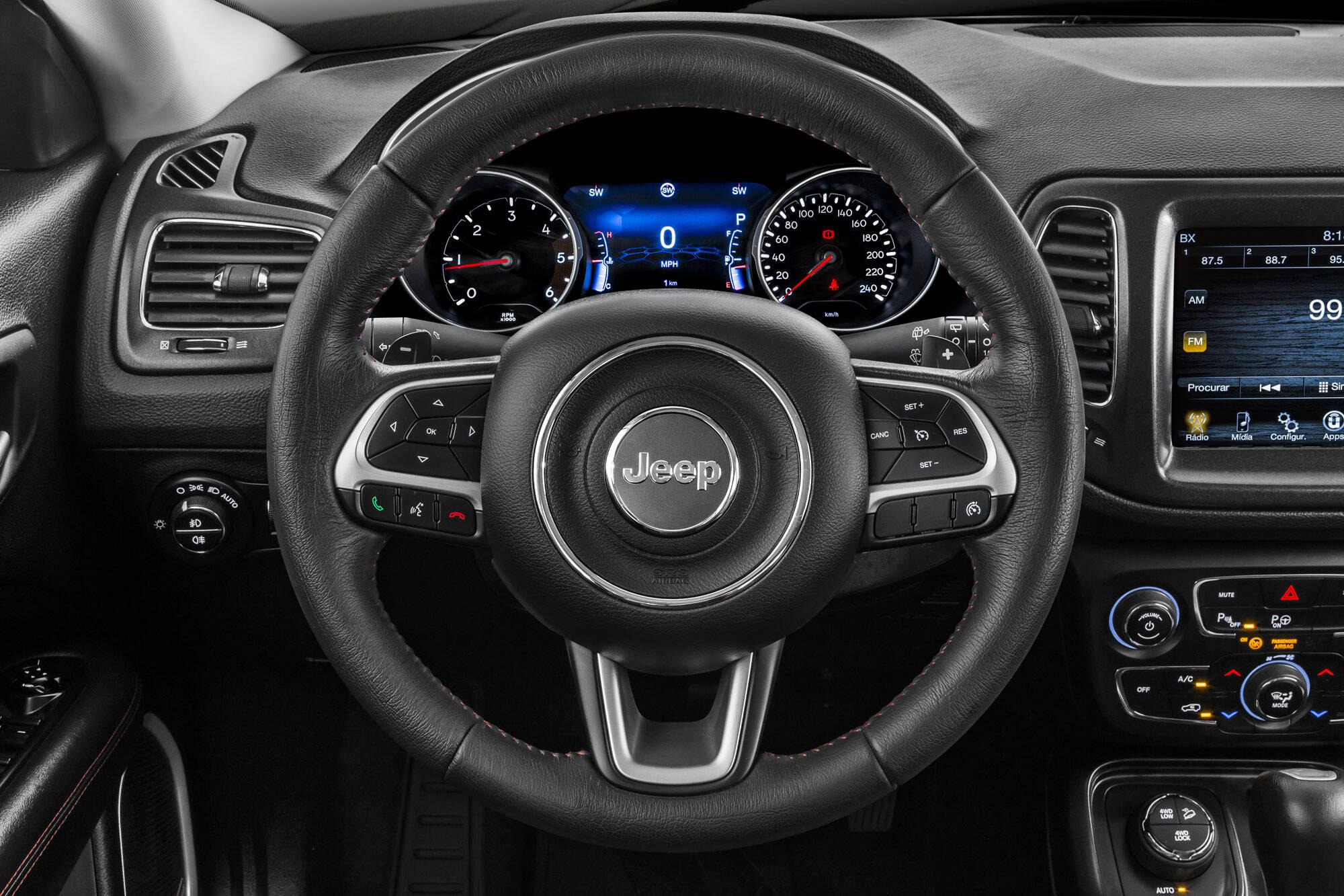 Jeep Compass. Foto: Divulgação/Jeep