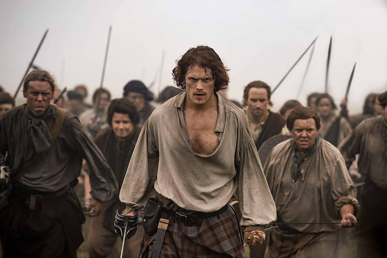 """Sam Heughan: Sam é conhecido por seu papel em """"Outlander"""", tem uma legião de fãs e já foi cogitado para o papel. Foto: Divulgação"""