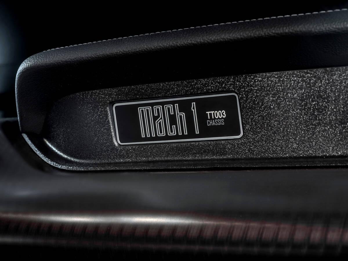 Ford Mustang Mach 1. Foto: Divulgação
