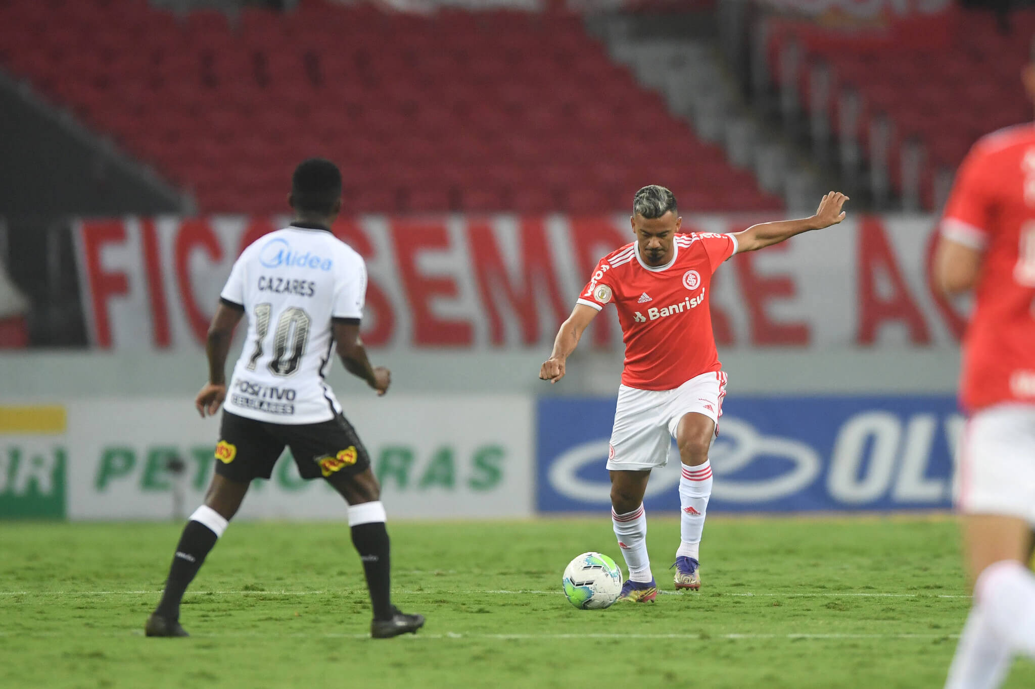 Inter x Corinthians. Foto: Ricardo Duarte / Internacional