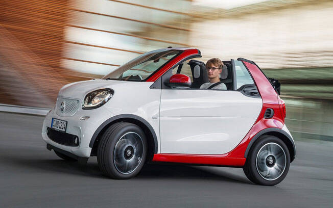 Smart Fortwo Cabriolet. Foto: Divulgação