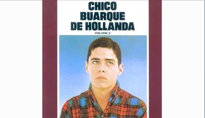 """Capa de """"Chico Buarque de Hollanda vol. 3"""", lançado em 1968.. Foto: Reprodução/ Divulgação"""