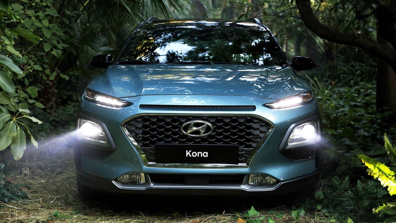 Hyundai Kona. Foto: Divulgação/Hyundai