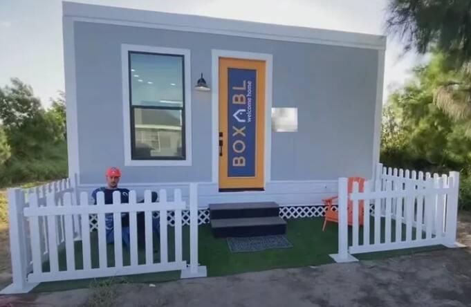 Modelo de casa onde vive Elon Musk. Foto: Reprodução