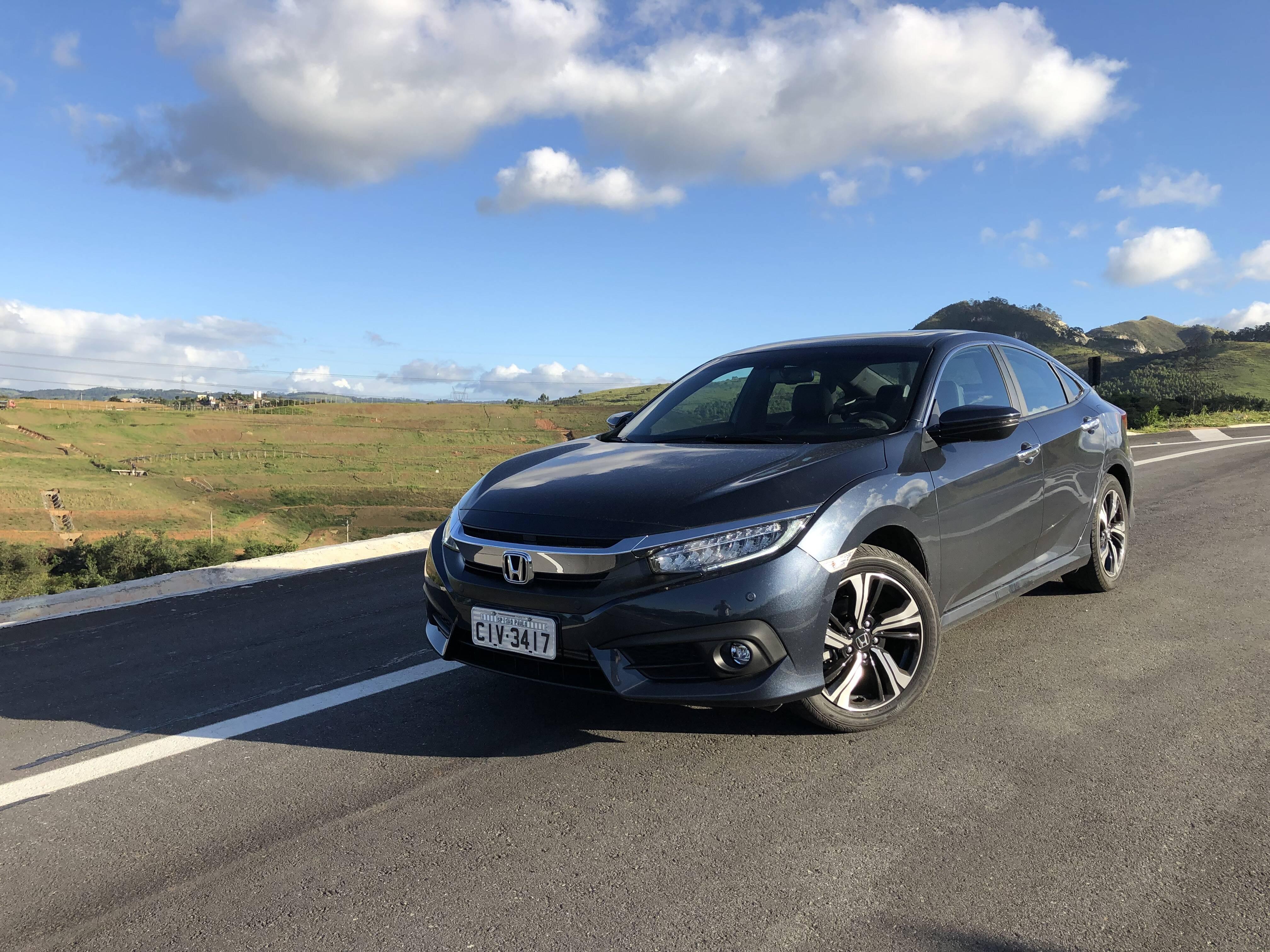 Honda Civic Touring. Foto: Leandro Alvares/iG Carros