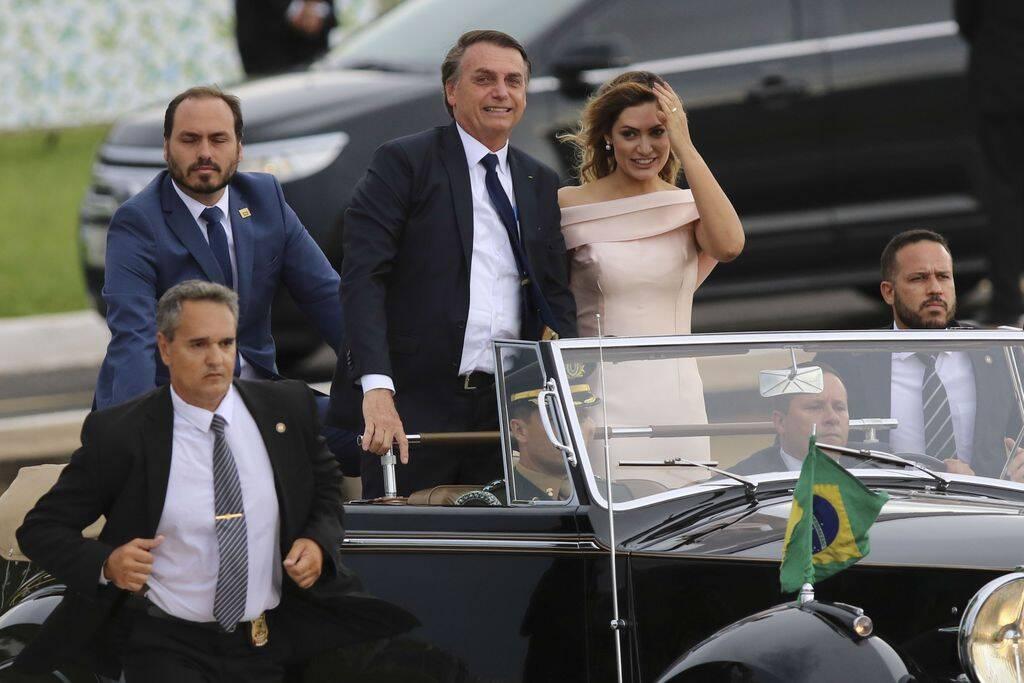 Presidente eleito Jair Bolsonaro chega ao Congresso Nacional. Foto: Agência Brasil/Fabio Rodrigues