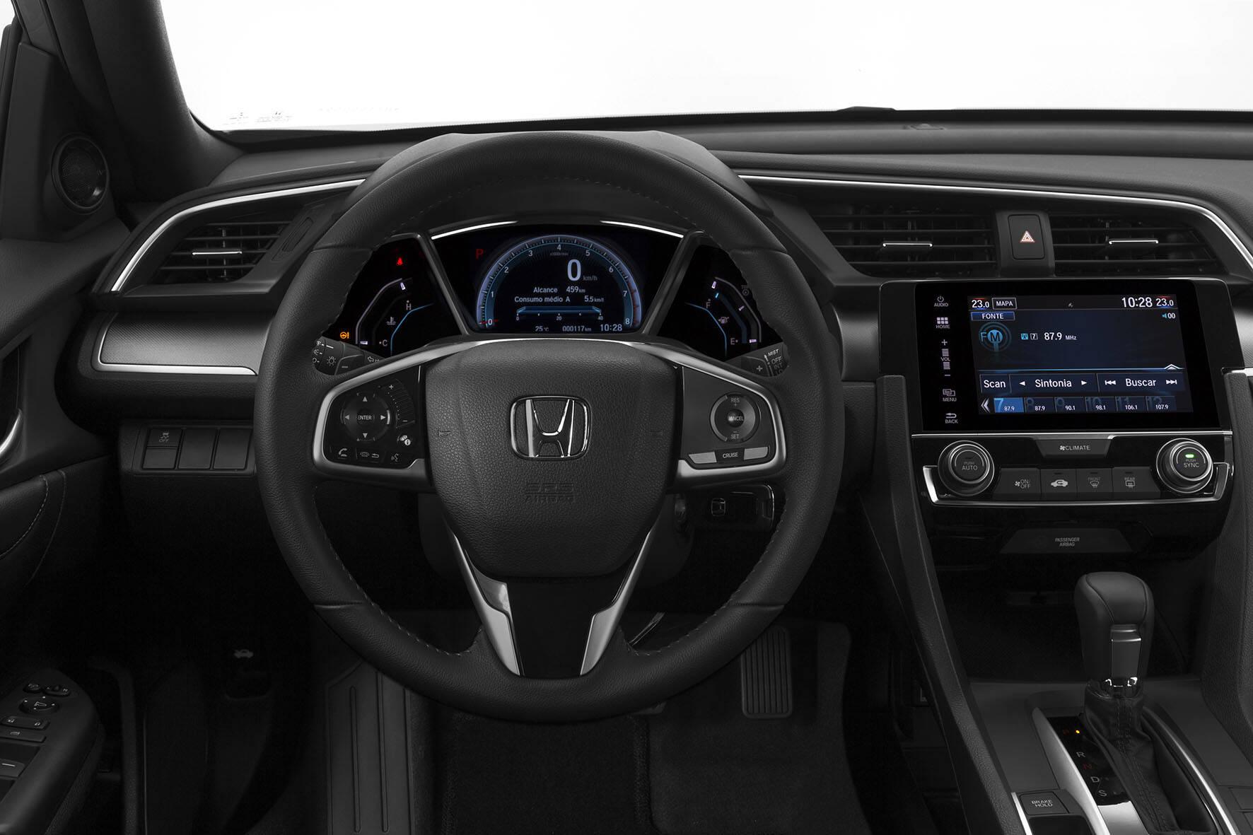 Honda Civic 2017. Foto: Divulgação
