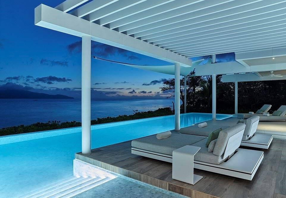 Resort mais caro do mundo. Foto: Divulgação/Banwa Private Island