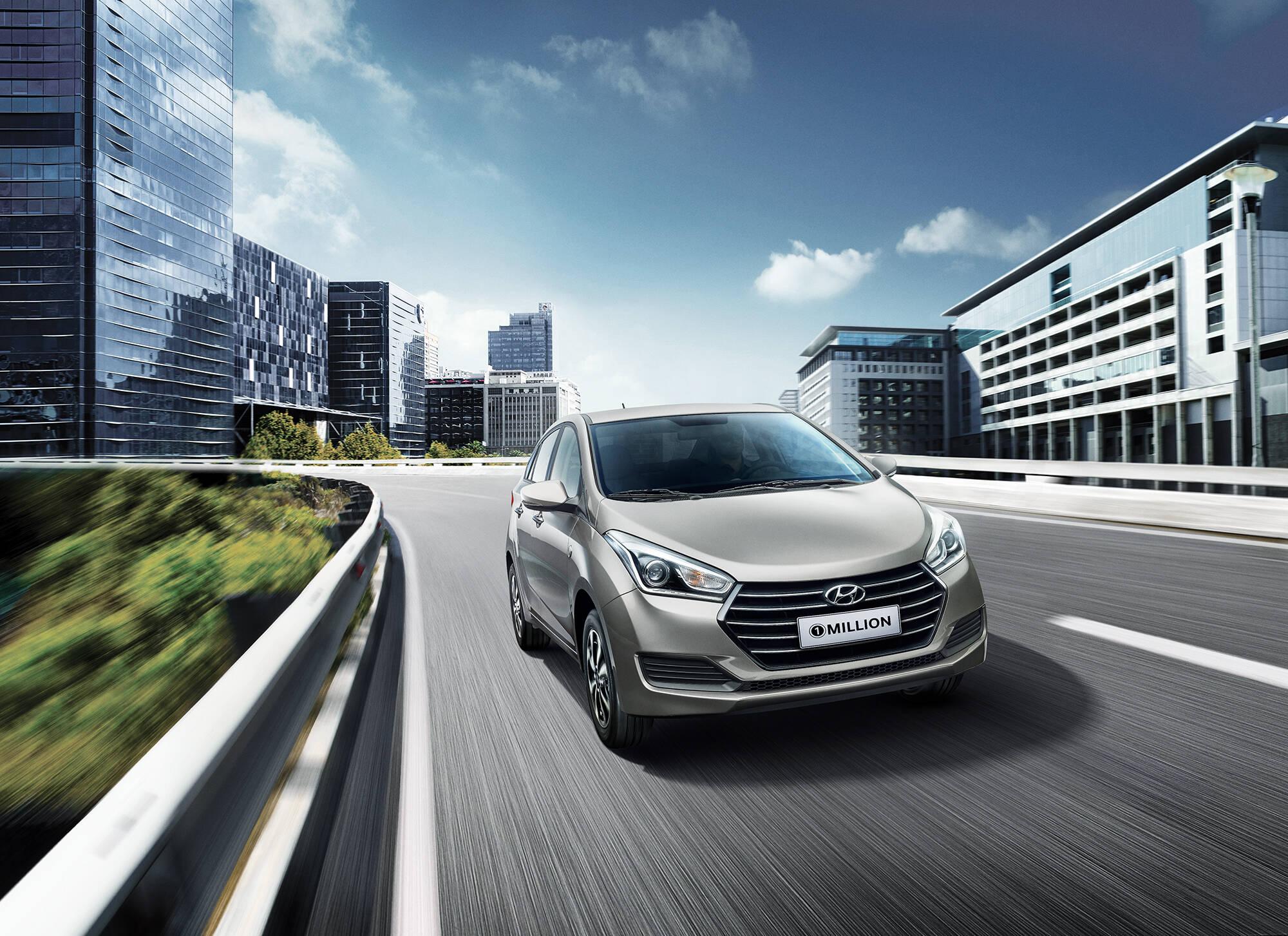 Hyundai Creta e HB20 1 Million. Foto: Divulgação