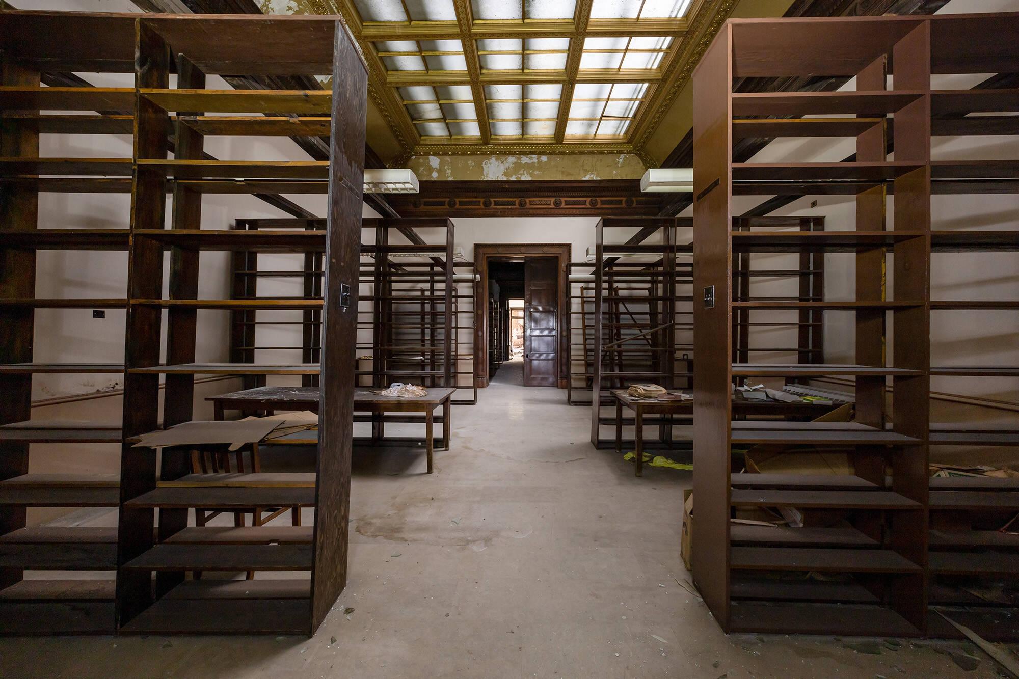 Biblioteca . Foto: Reprodução/ Abandoned Southeast