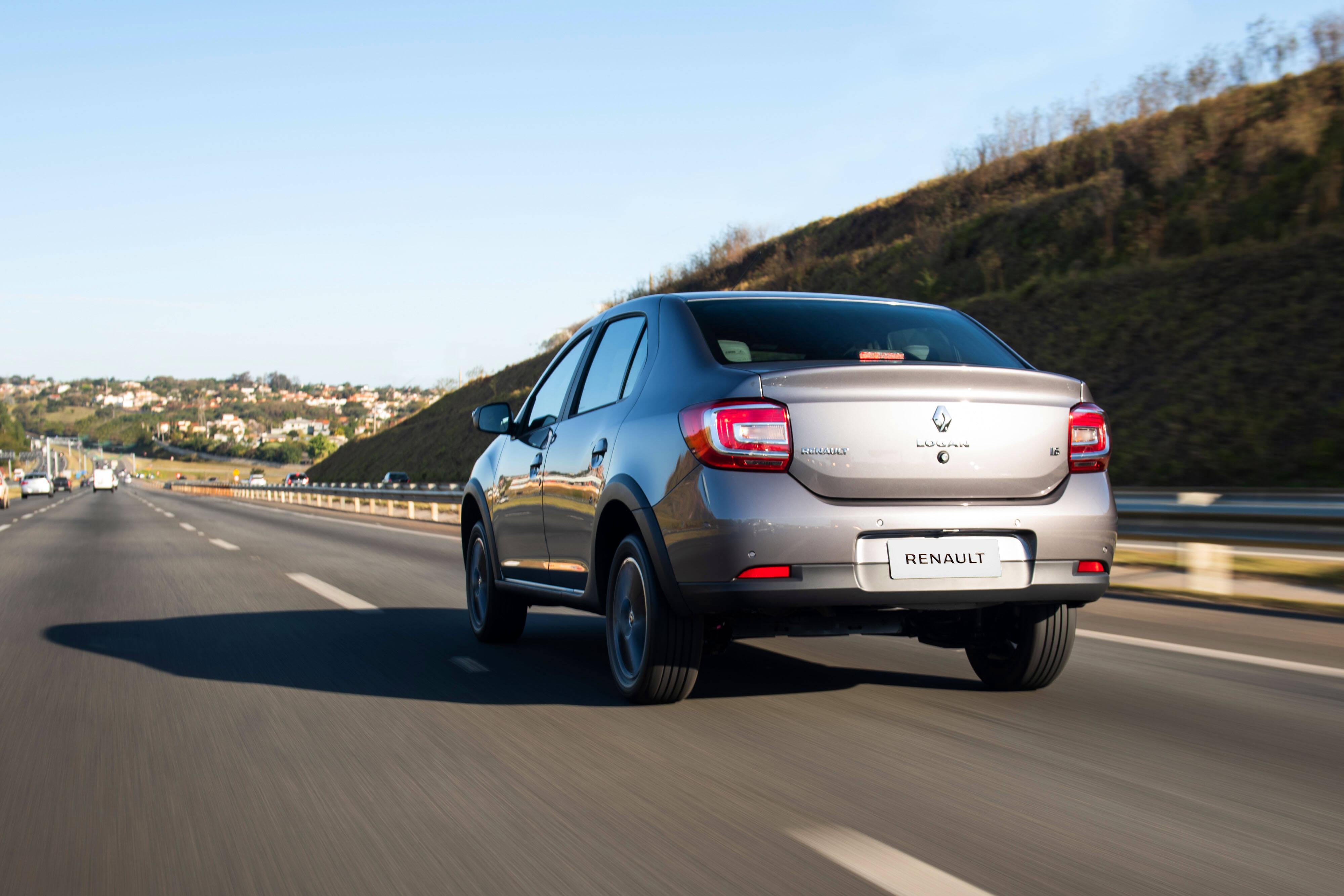 Renault Logan 2020. Foto: Divulgação