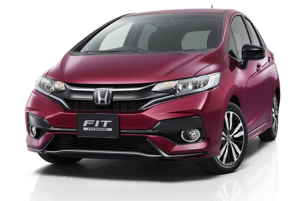 Honda Fit. Foto: Divulgação