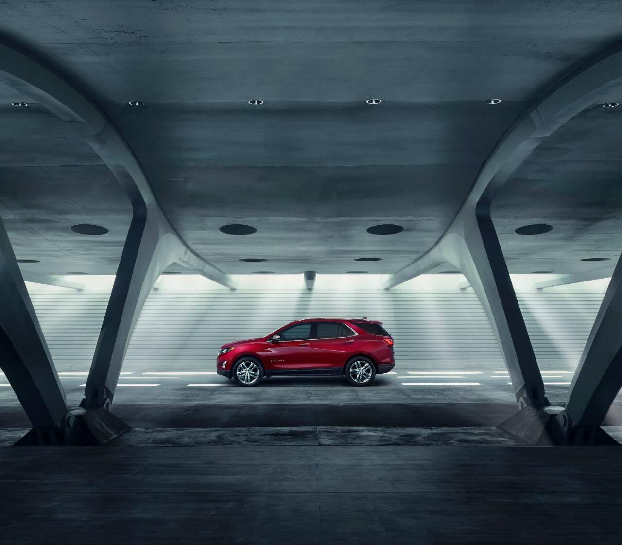 Chevrolet Equinox. Foto: Divulgação