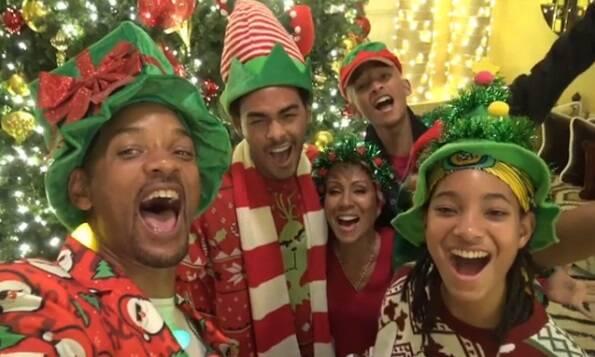 famosos entram no clima natalino. Foto: Reprodução / Instagram
