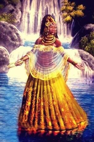 Nossa Senhora Aparecida também é representada pela figura de Oxum. Foto: Reprodução