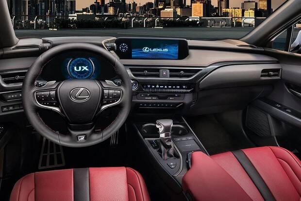 Lexus UX. Foto: Divulgação