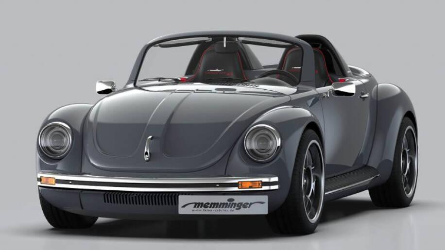 À primeira vista, é nítido que esse Fusca não é um Volkswagen em sua forma original. Tudo nele é pensado para performance. Foto: Divulgação