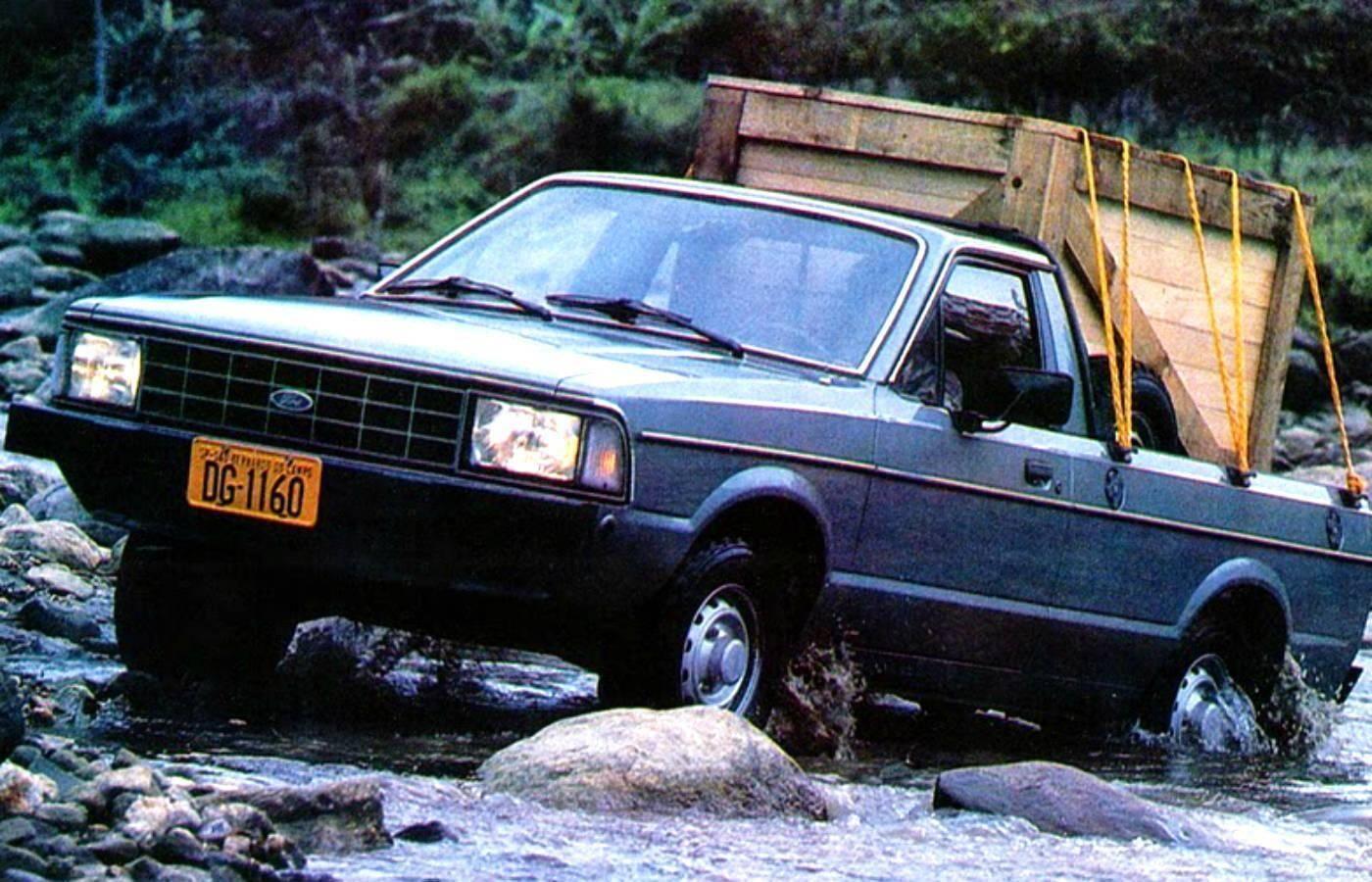 Ford Pampa: 1.409 . Foto: Divulgação
