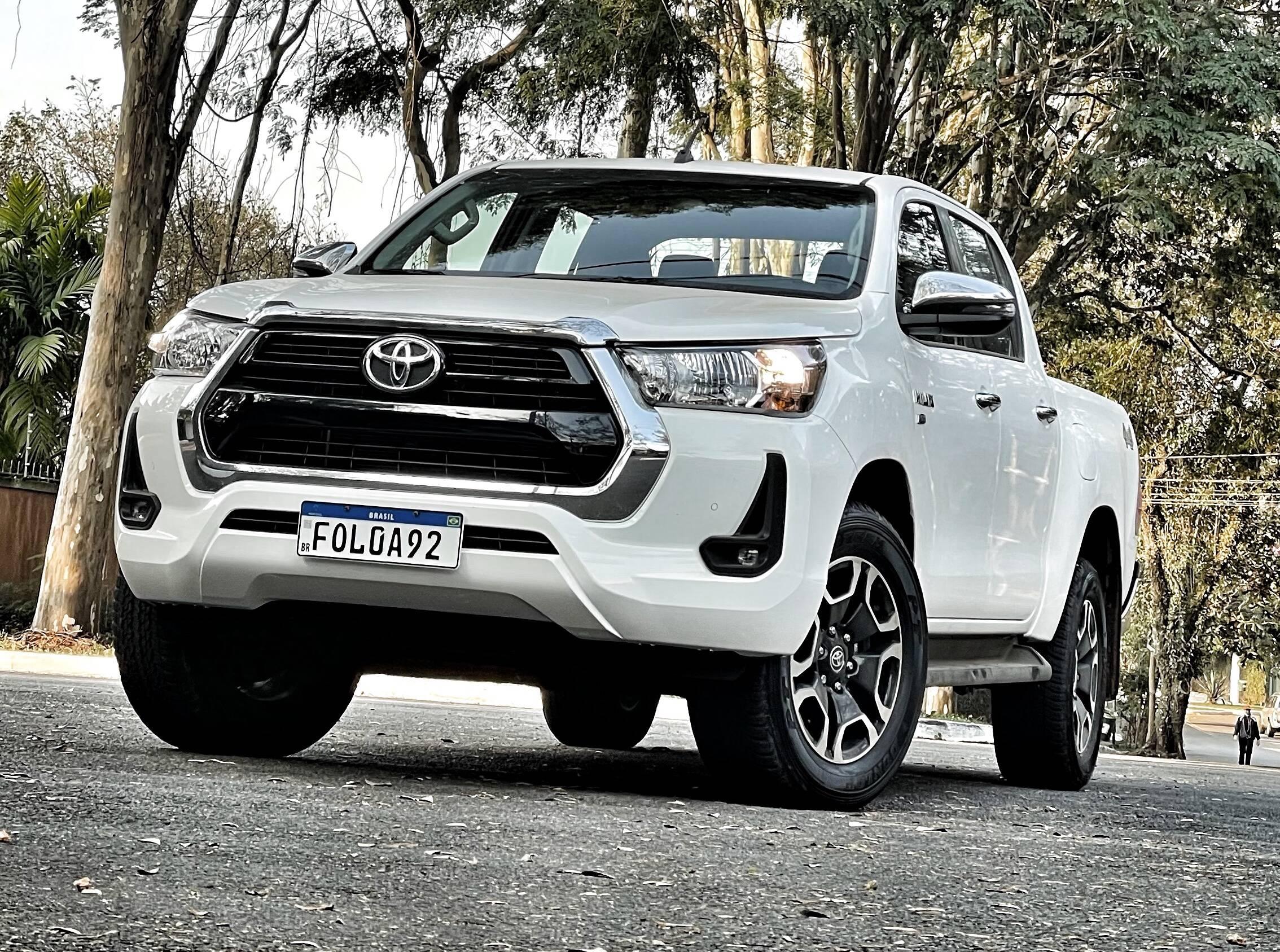 Foto: Toyota Hilux SR-V Flex