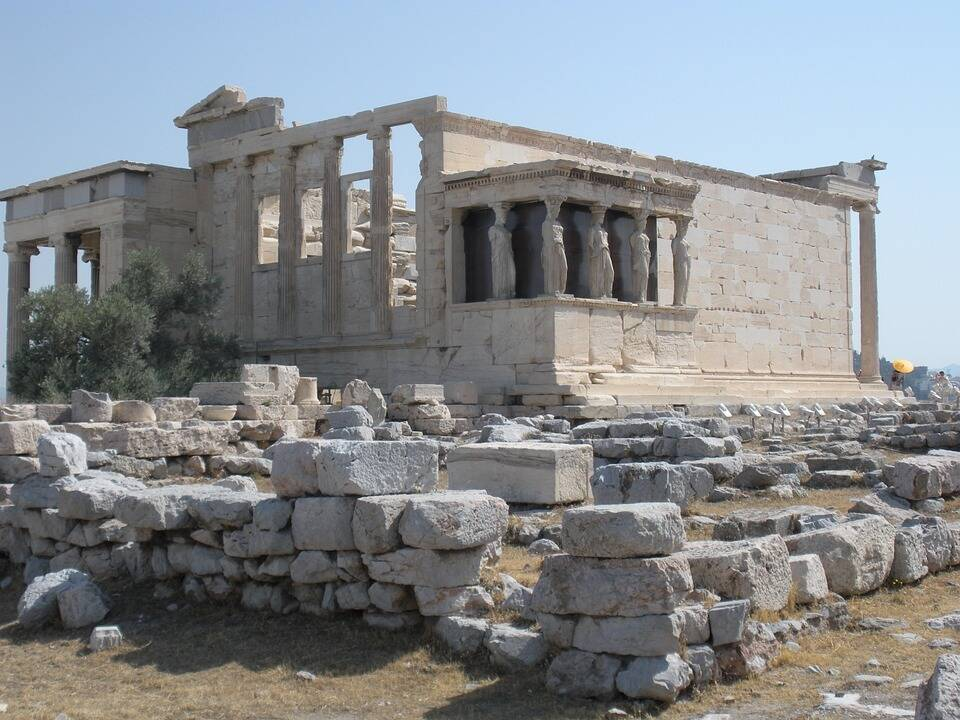 Ruínas de Partenon. Foto: Pixabay