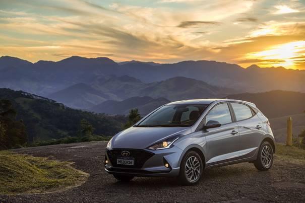 Hyundai HB20 Platinum. Foto: Divulgação