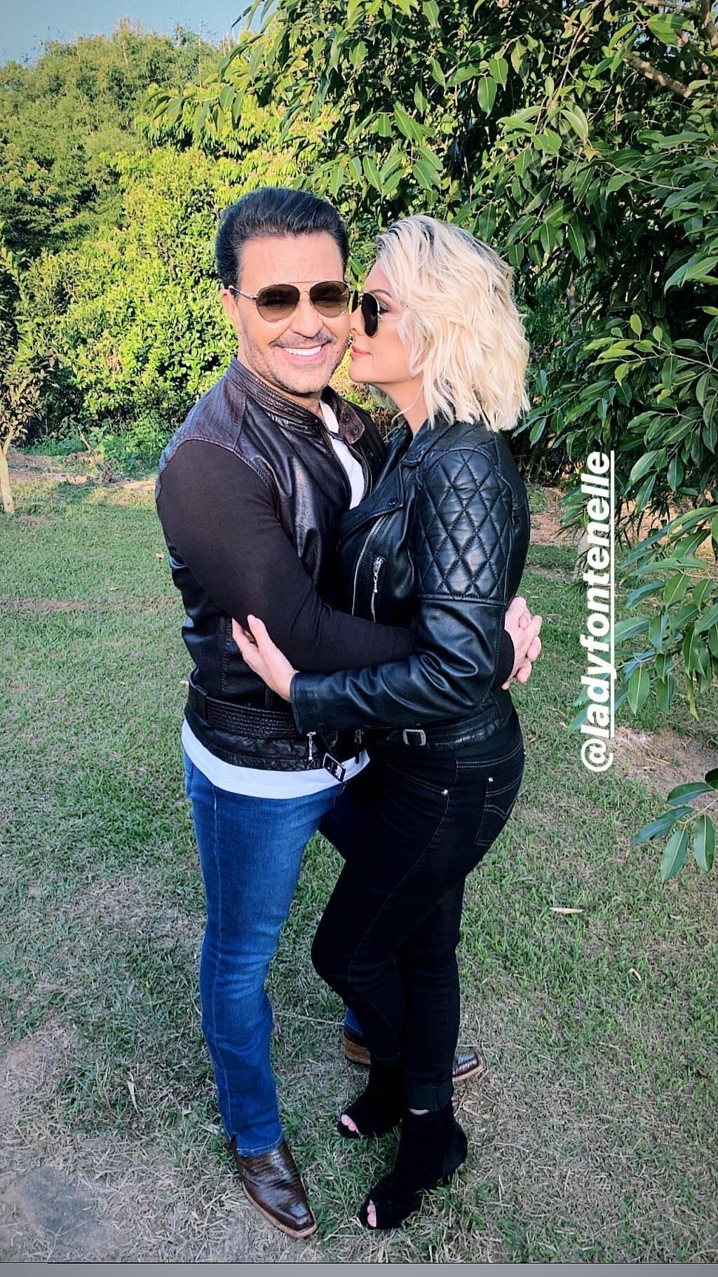 Antonia Fontenelle e Eduardo Costa . Foto: Reprodução/Instagram