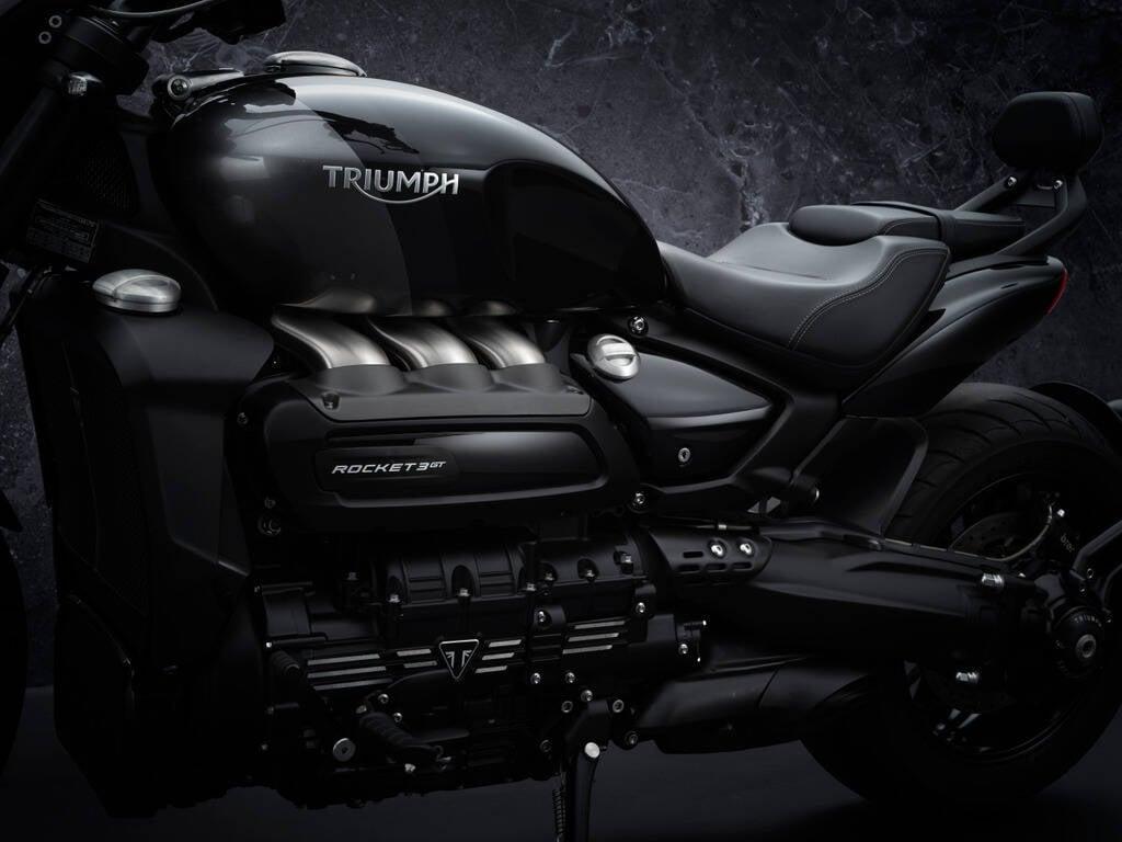 Triumph Rocket 3 GT Triple Black. Foto: Divulgação