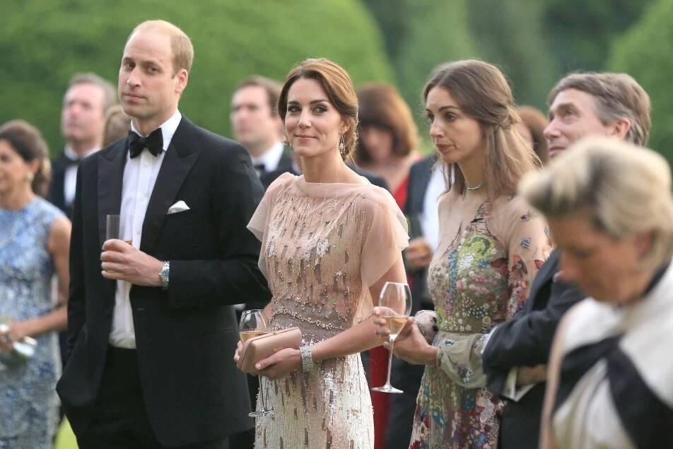Saiba tudo sobre Rose Hanbury, a Marquesa que está sendo apontada como pivô do divórcio entre Kate e William. Foto: Reprodução / The Sun
