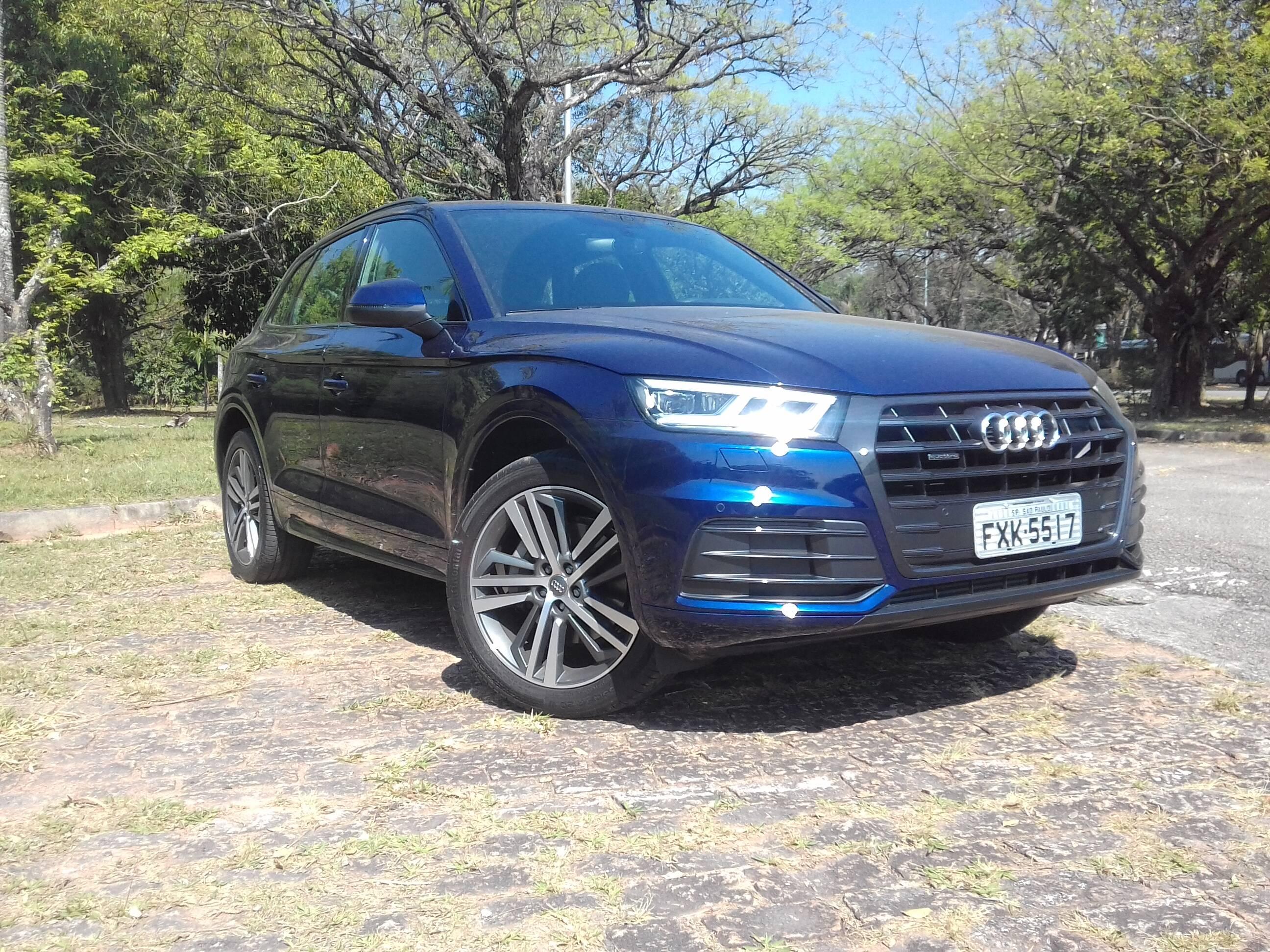 Audi Q5. Foto: Carlos Guimarães/iG