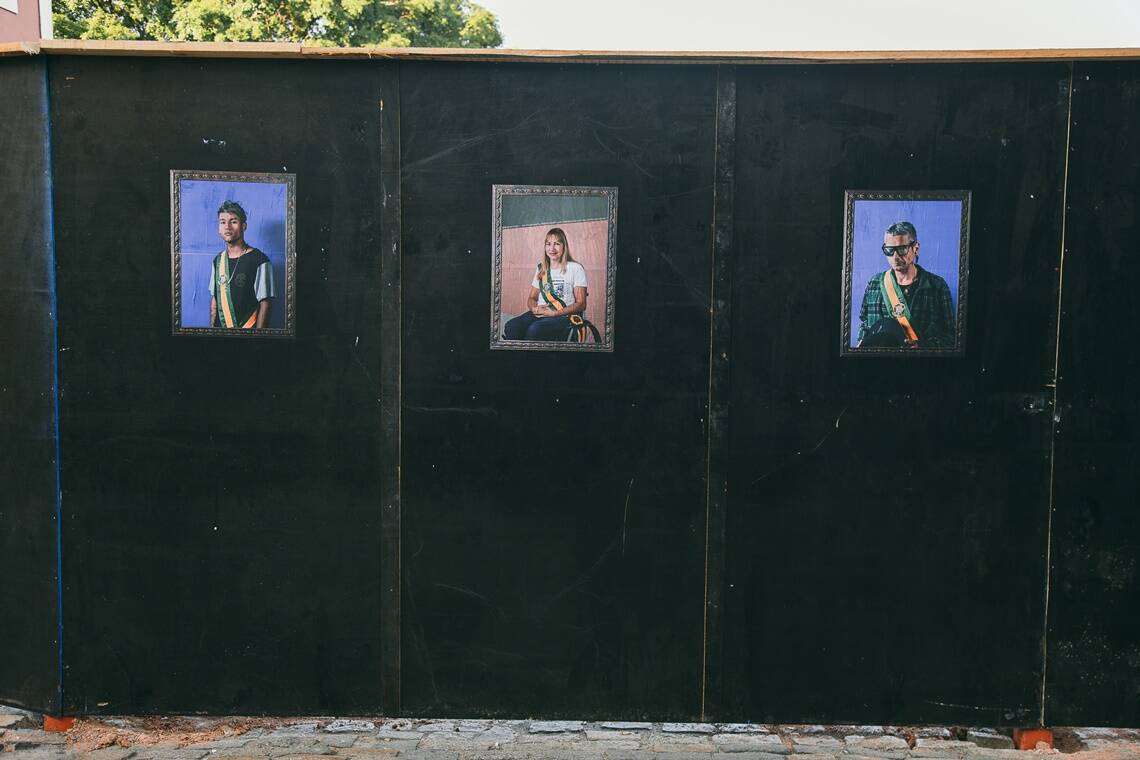 Projeto fotográfico reconfigura Presidentes do Brasil . Foto: Fernanda Mello / Diogo Andrade