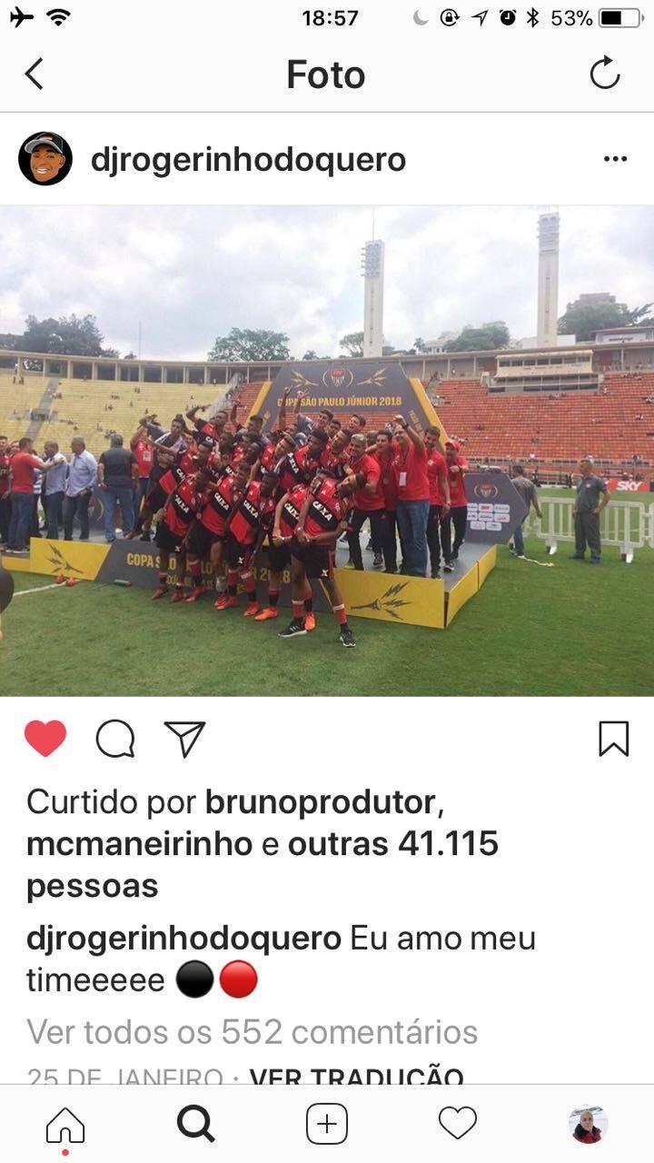 DJ Rogerinho do Querô faz sucesso com Tortão Para Esquerda. Foto: Divulgação