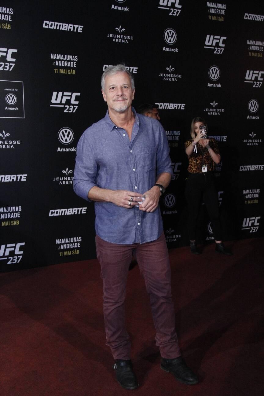 Famosos comparem ao UFC Rio. Foto: Wallace Barbosa/ AgNews
