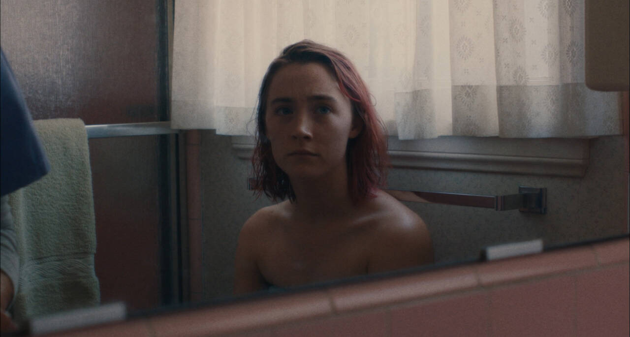 """Saoirse Ronan recebeu por """"Lady Bird: É Hora de Voar"""" sua terceira indicação ao Oscar. Ela já ganhou o Globo de Ouro como melhor atriz de comédia pelo papel. Foto: Divulgação"""