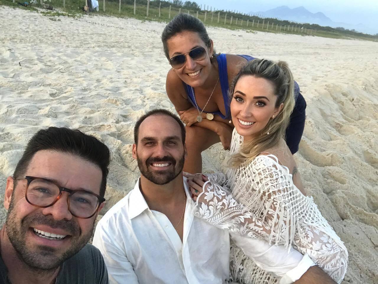 Preparativos para casamento de Eduardo Bolsonaro estão a todo vapor. Foto: Davi Nascimento