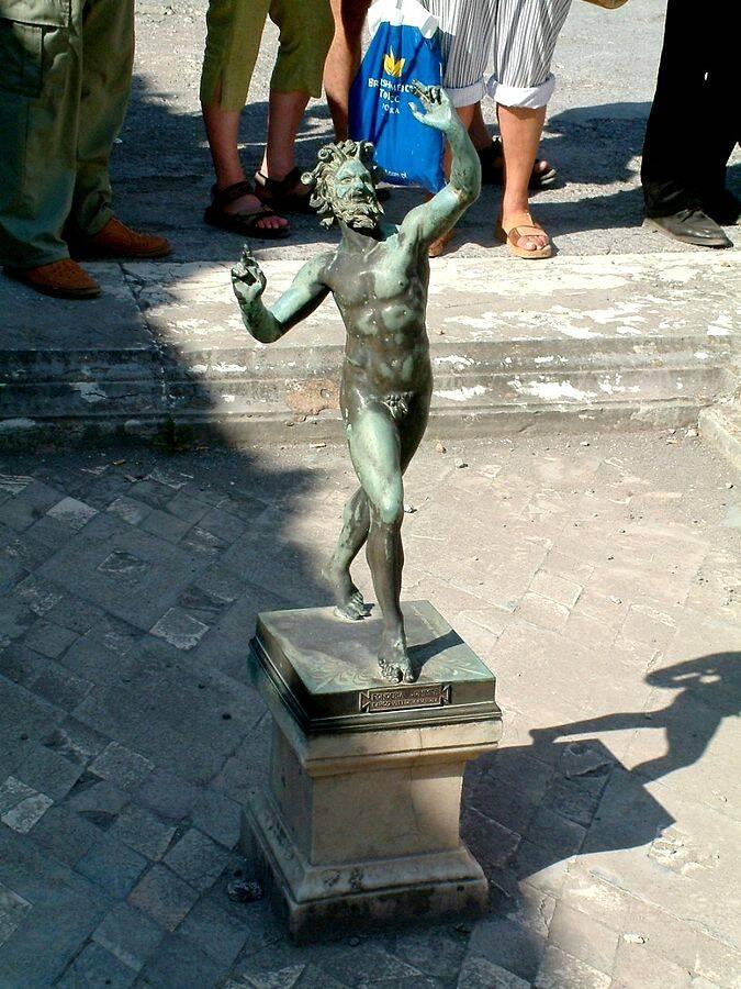 O Fauno Dançarino. Foto: Wikipedia