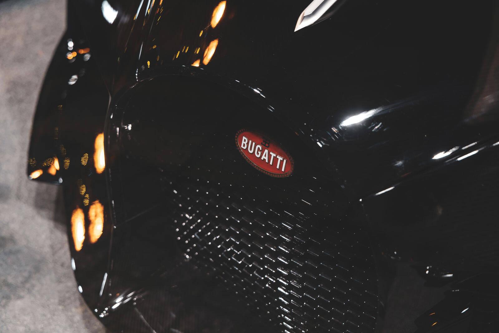 Bugatti La Voiture Noire. Foto: Divulgação
