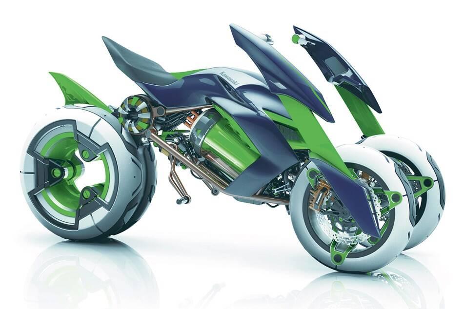 Kawasaki Concept J . Foto: Divulgação
