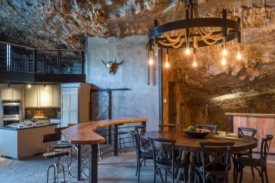 A reforma da caverna custou mais de um milhão de dólares. Foto: Jam Press/Beckham Creek Cave Lodge