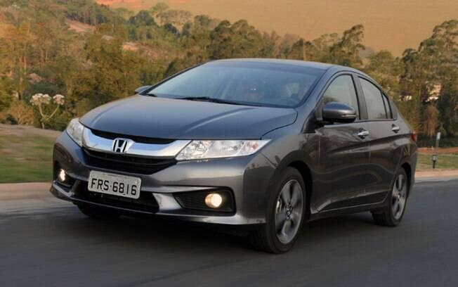 Honda City - Depreciação de 10,3%. Foto: Divulgação