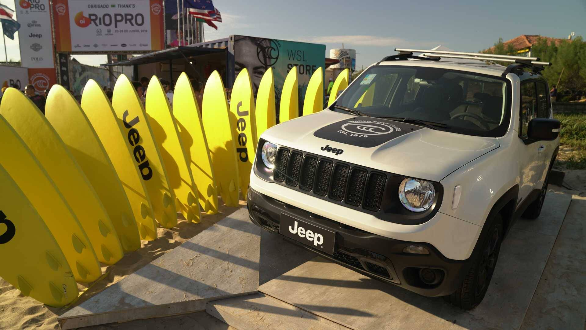 Jeep Renegade WSL. Foto: Divulgação