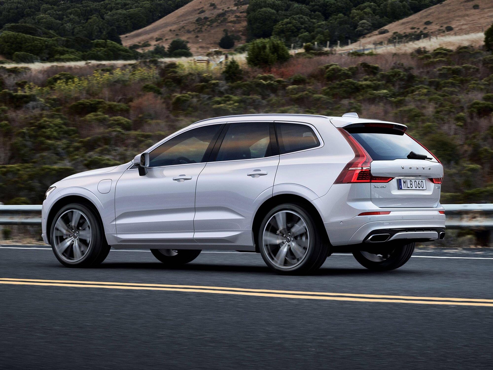 Volvo XC60. Foto: Divulgação/Volvo