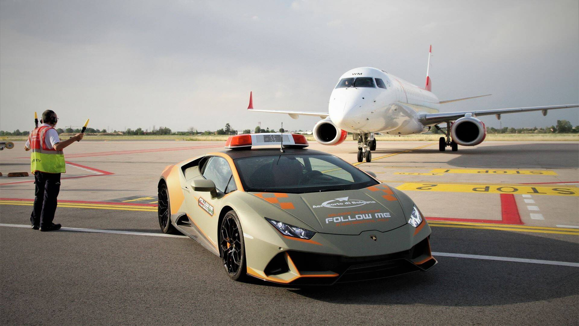 Lamborghini Uracan Evo. Foto: Divulgação
