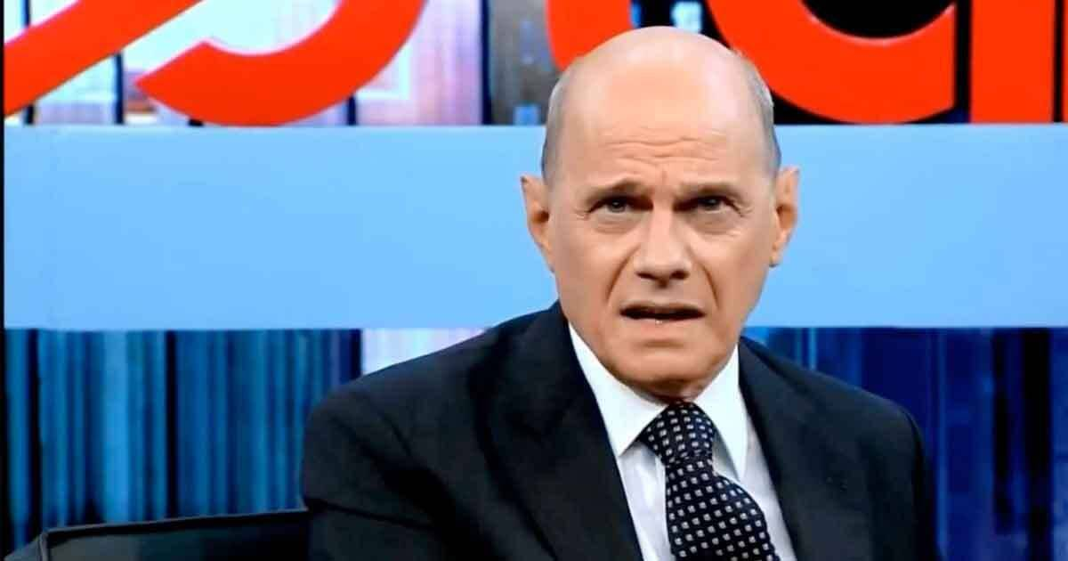 """Ricardo Boechat fazendo participação no extinto """"Agora é Tarde"""". Foto: Reprodução / TV Band / Instagram"""